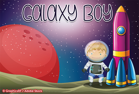Print on Demand: Galaxy Boy Script & Handwritten Font By Misti