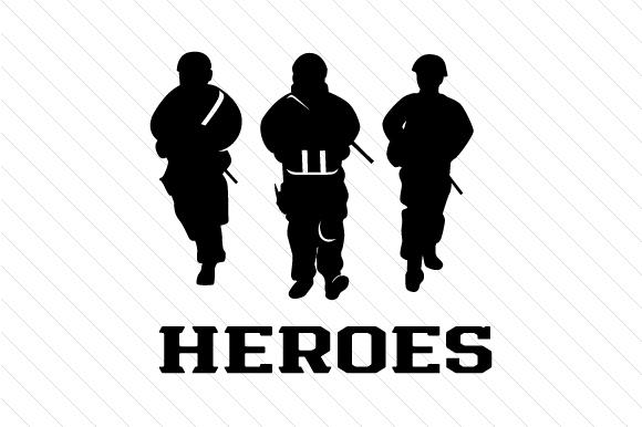 Heroes Military Craft Cut File By Creative Fabrica Crafts