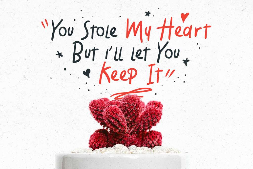 Holiday Font By letterhend Image 9