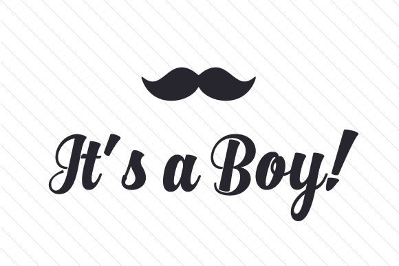 It's a Boy! Kids Craft Cut File By Creative Fabrica Crafts