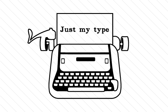Just My Type Cut File Download