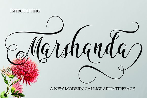 Print on Demand: Marshanda Script & Handwritten Font By Jhoen Studio