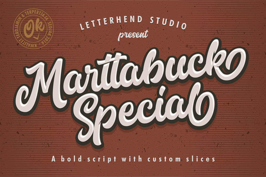 Print on Demand: Marttabuck Script & Handwritten Font By letterhend