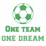 One team one dream soccer