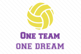 One team one dream volleyball