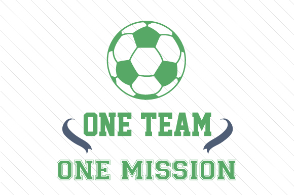 Download Free One Team One Mission Soccer Svg Cut File By Creative Fabrica for Cricut Explore, Silhouette and other cutting machines.