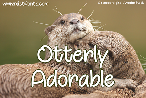 Print on Demand: Otterly Adorable Script & Handwritten Font By Misti