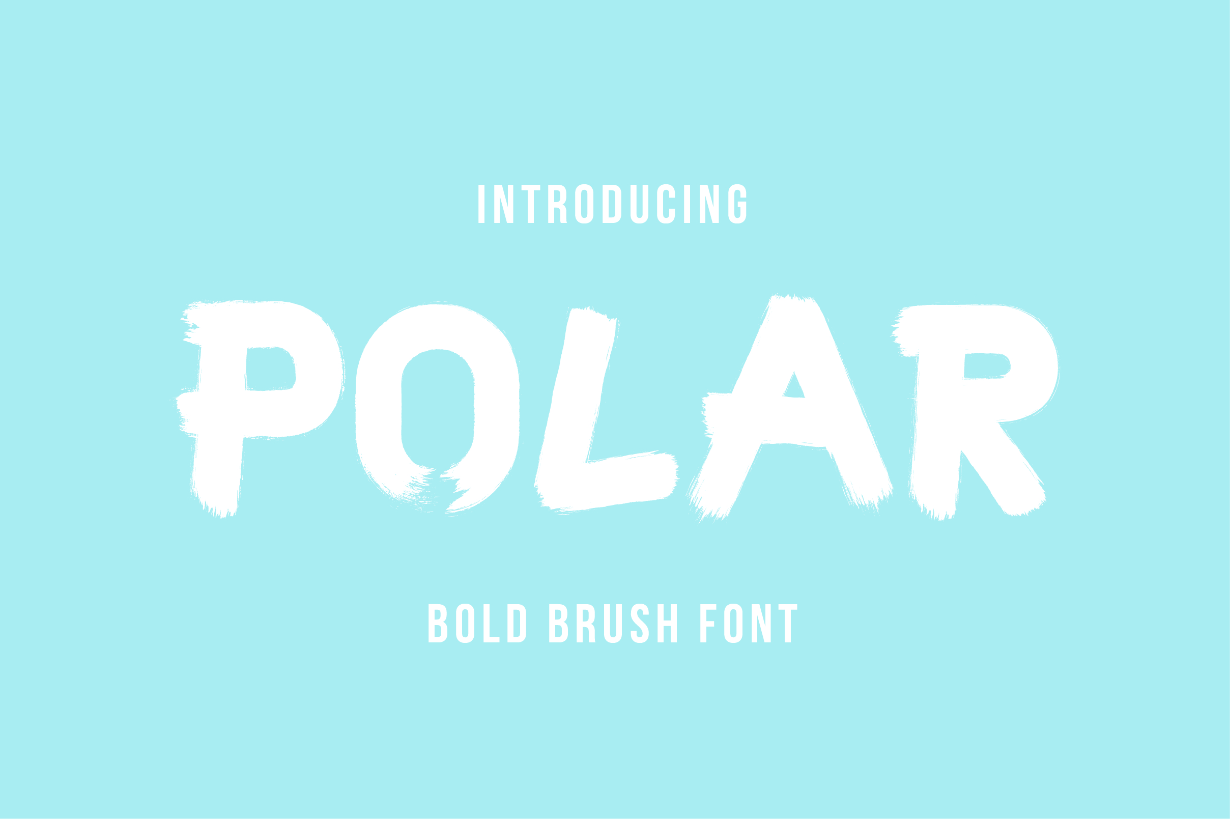 Print on Demand: Polar Display Font By Mike Hill