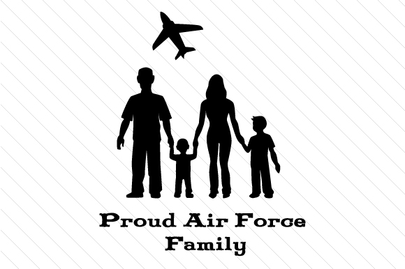 Proud Air Force Family Military Craft Cut File By Creative Fabrica Crafts