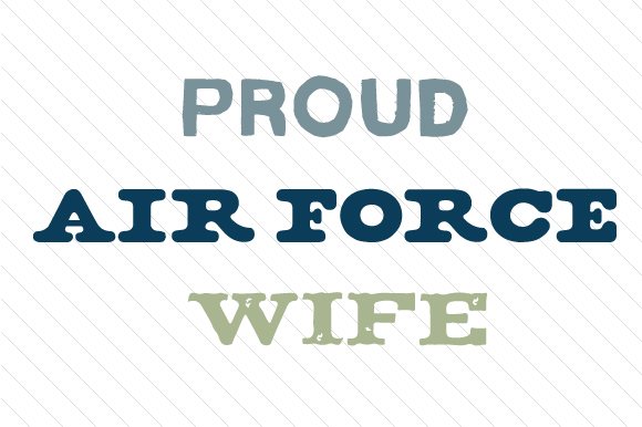 Download Free Proud Air Force Wife Svg Cut File By Creative Fabrica Crafts for Cricut Explore, Silhouette and other cutting machines.