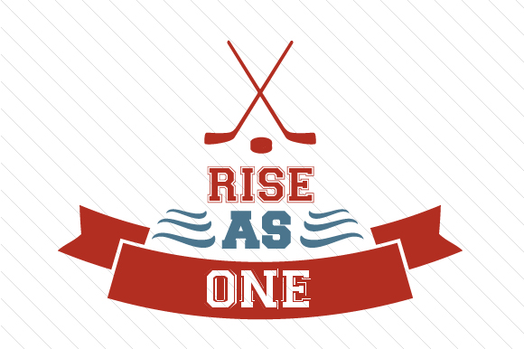 Rise As One Hockey Sports Craft Cut File By Creative Fabrica Crafts