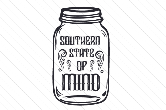 Download Free Southern State Of Mind Svg Cut File By Creative Fabrica Crafts for Cricut Explore, Silhouette and other cutting machines.