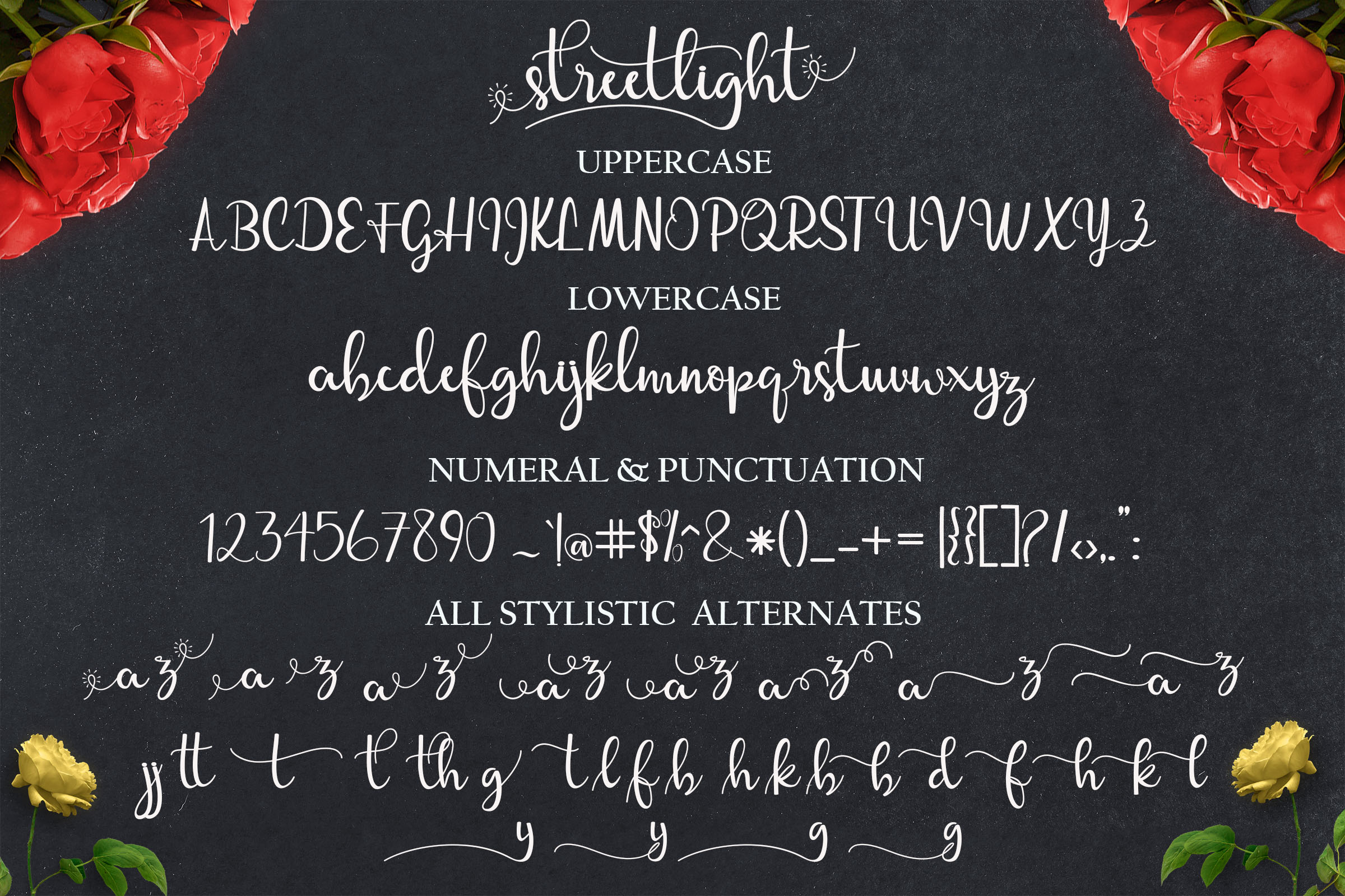 Streetlight Font By Mrletters Image 10