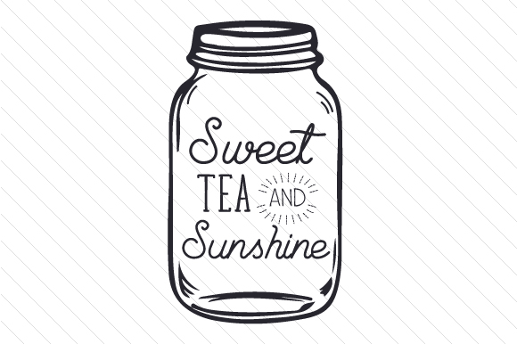 Download Free Sweet Tea And Sunshine Svg Cut File By Creative Fabrica Crafts for Cricut Explore, Silhouette and other cutting machines.
