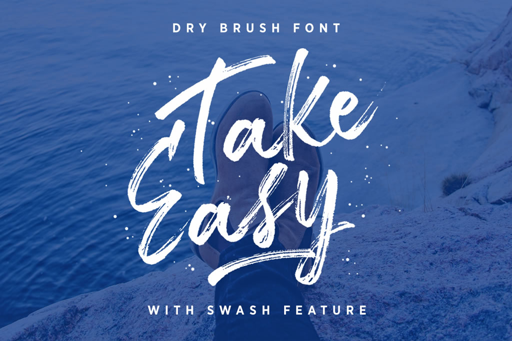 Take Easy Script & Handwritten Font By letterhend