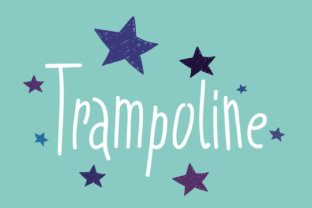 Trampoline Font by Tour De Force 1