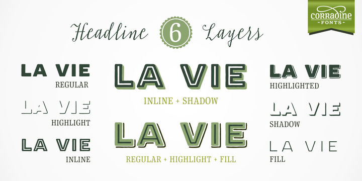 Print on Demand: Typnic Family Sans Serif Font By Corradine Fonts - Image 7