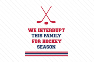 We interrupt this family for hockey season