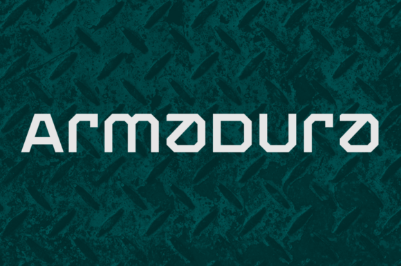 Print on Demand: Armadura Family Display Font By Graviton Font Foundry