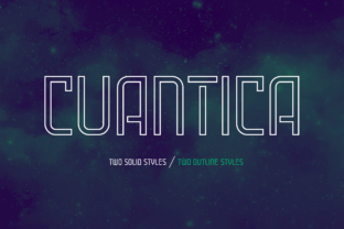Cuantica Family Font By Graviton Font Foundry