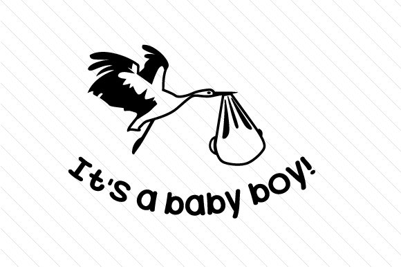 Download Free It S A Baby Boy Svg Cut File By Creative Fabrica Crafts for Cricut Explore, Silhouette and other cutting machines.