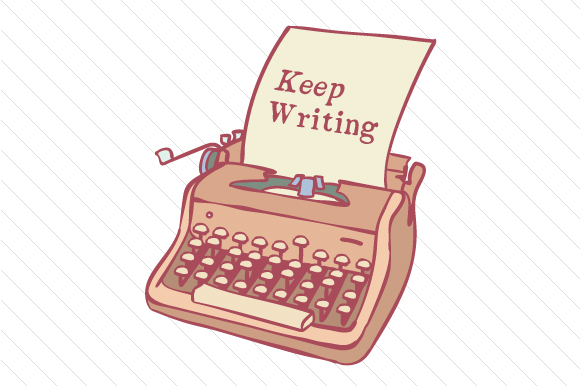 "Image result for ""keep writing"" clipart"