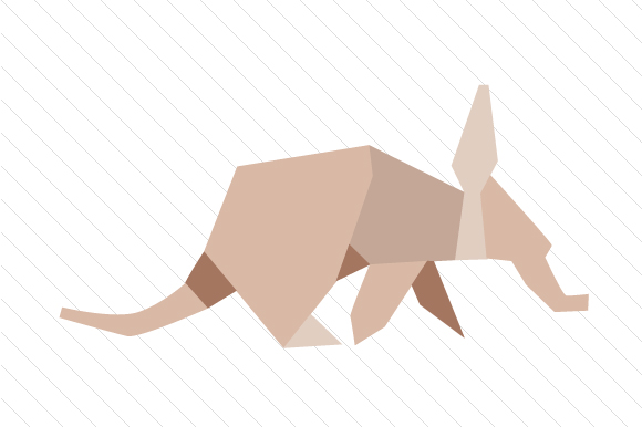 Origami Ant Eater Designs & Drawings Craft Cut File By Creative Fabrica Crafts