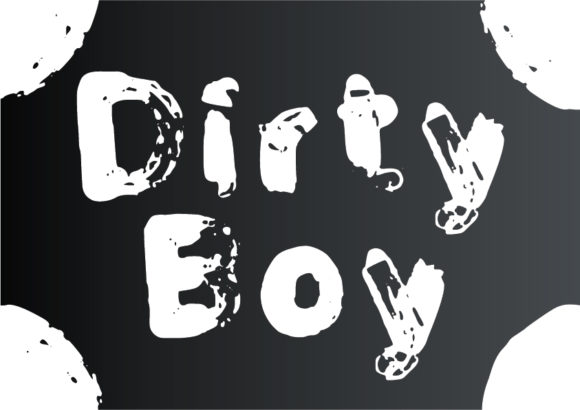 Print on Demand: Dirty Boy Decorative Font By GraphicsBam Fonts