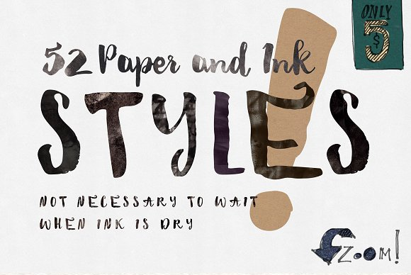 52 Paper & Ink Styles Graphic By Blessed Print