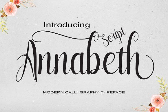 Print on Demand: Annabeth Script & Handwritten Font By StudioRz