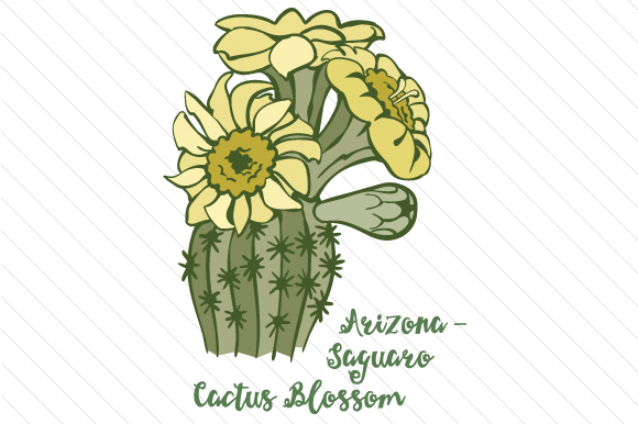Download Free 50 State Flowers Crafts 2020 Page 2 Of 2 Creative Fabrica for Cricut Explore, Silhouette and other cutting machines.