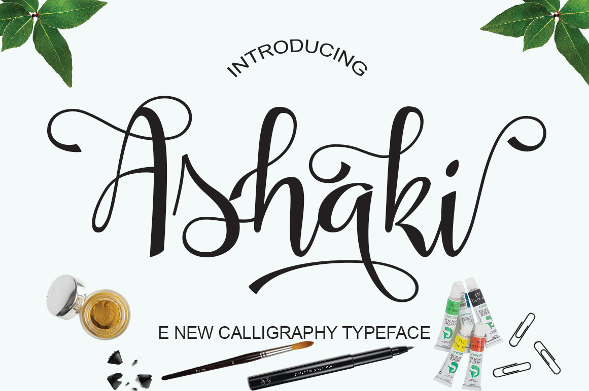 Print on Demand: Asyaki Script & Handwritten Font By Naqsya.Co
