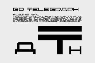 BD Telegraph by Büro Destruct
