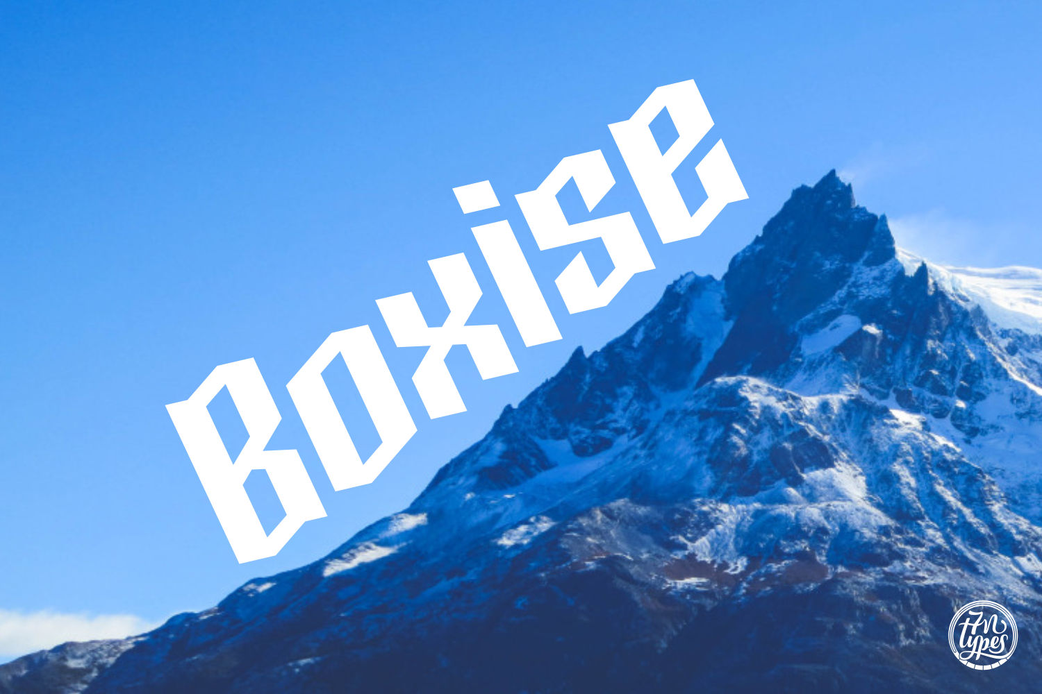Boxise Font By Situjuh Image 1