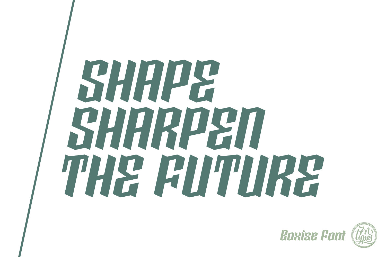 Boxise Font By Situjuh Image 2