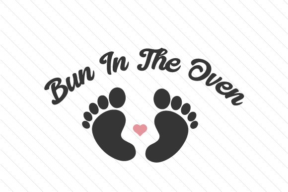 Bun in the Oven Kids Craft Cut File By Creative Fabrica Crafts