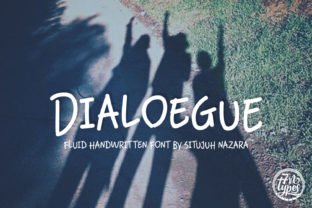 Dialoegue Font by Situjuh_CF_1