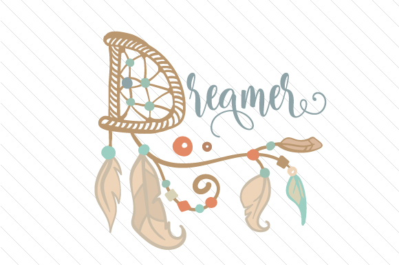 Dreamer Boho Craft Cut File By Creative Fabrica Crafts