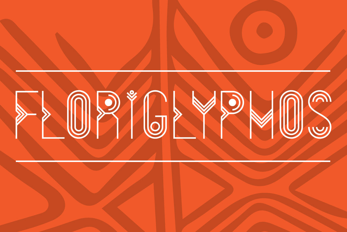 Print on Demand: FloriGlyphos Decorative Font By Cort9