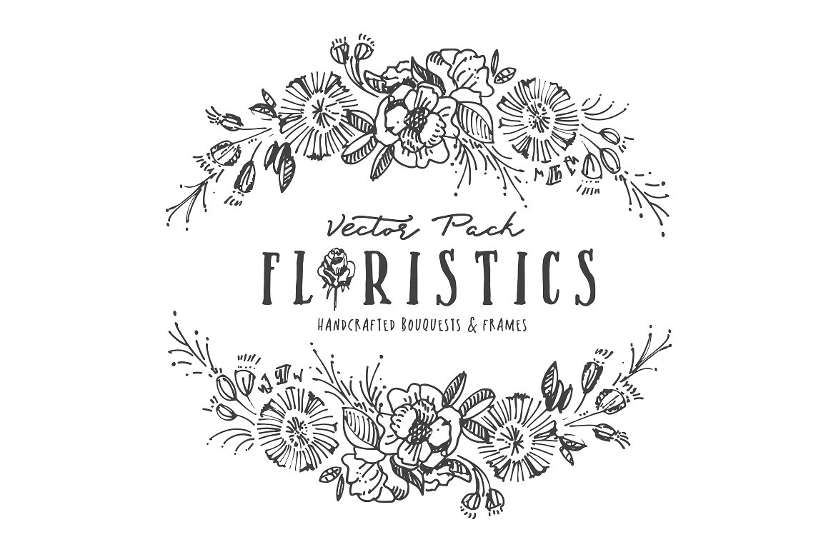 Floristic Vector Pack Graphic By Blessed Print