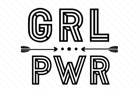 Grl Pwr Svg Cut File By Creative Fabrica Crafts Creative Fabrica