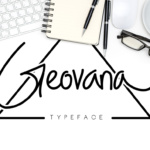Geovana Signature Typeface by madeDeduk