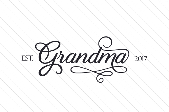 Grandma Est 20XX Kids Craft Cut File By Creative Fabrica Crafts