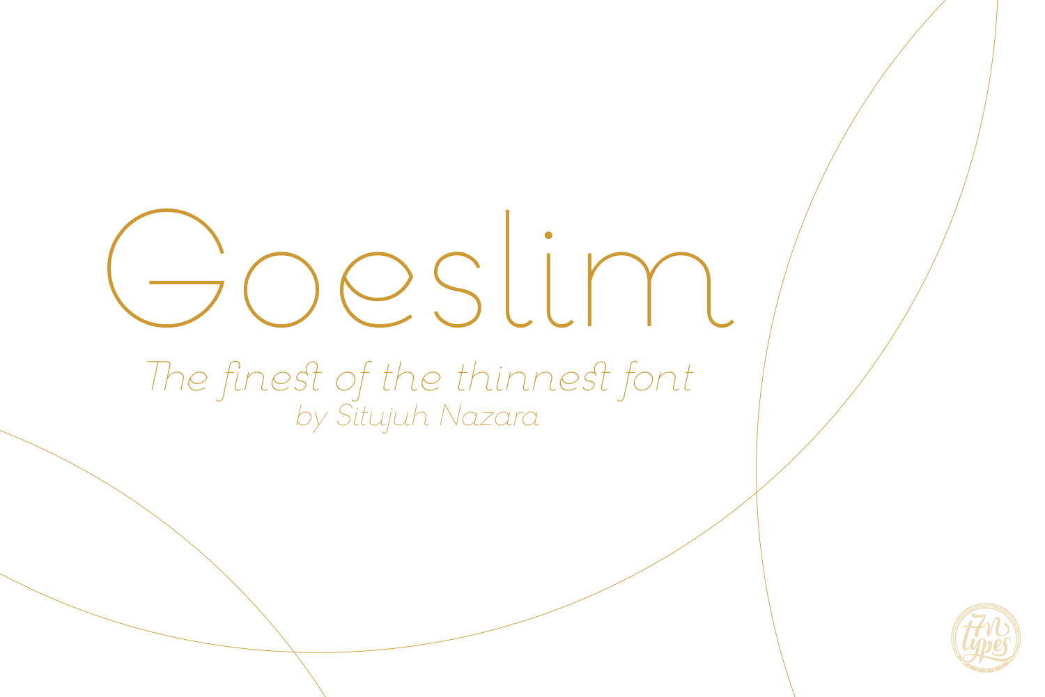 Print on Demand: Goeslim Serif Font By Situjuh - Image 1