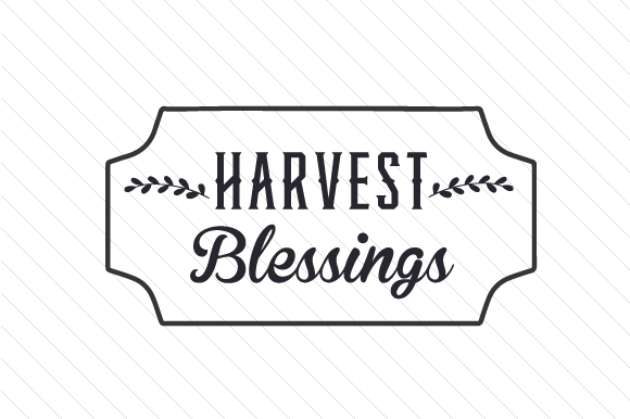 Harvest Blessings Craft Design By Creative Fabrica Crafts
