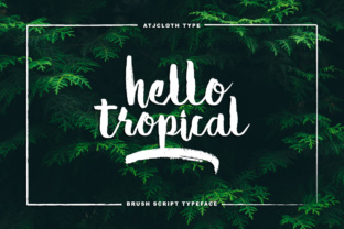 Hello Tropical by Atjcloth Studio