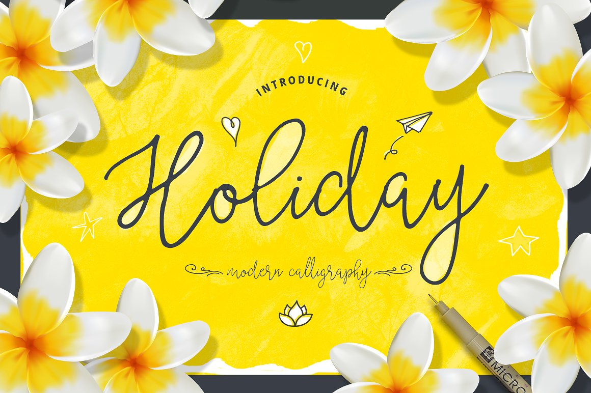 Print on Demand: Holiday Script & Handwritten Font By Blessed Print
