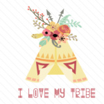 Download I Love My Tribe SVG Cut file by Creative Fabrica Crafts ...