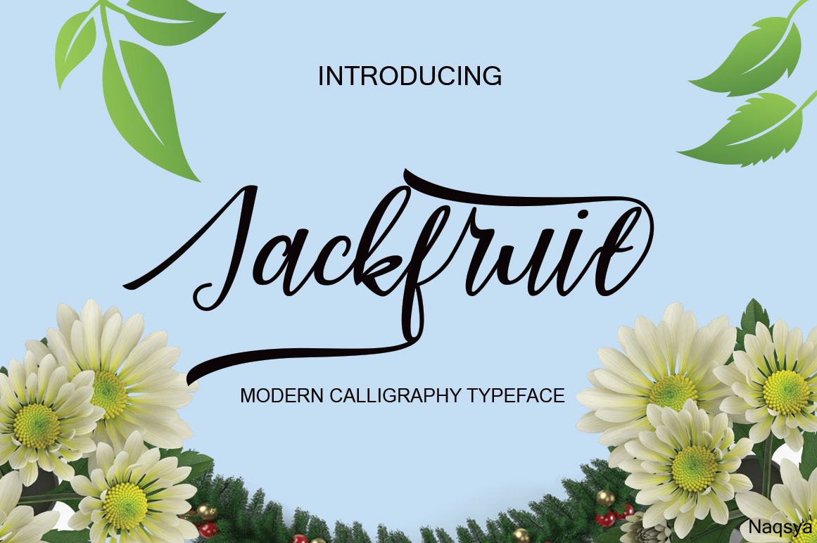 Print on Demand: Jackfuit Script & Handwritten Font By Naqsya.Co