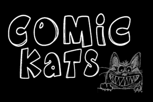 K26 Comic Kats by K26Fonts